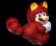Mario tanooki rojoo
