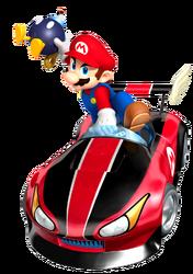 Mario in kart