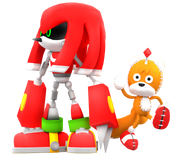 Metal knuckles and tails doll render by nibrocrock-d7gar46
