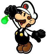 Paper Nega Luigi