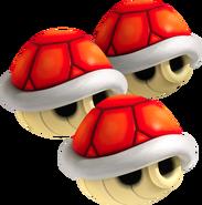 Triple Caparazón Rojo