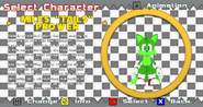 Jolts the Fox Improvisado en Sonic World EnginePNG