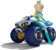 Art de Estela en Mario Kart 8