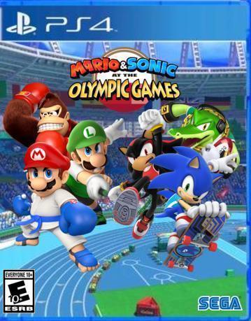 Mario Sonic At The Olympic Games Ps4 Mario Sonic Fanon Wikia Fandom