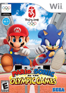 Mario and Sonic at the Olympic Games - Wii North American boxart