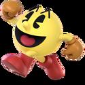 SSBU Artwork Pac-Man
