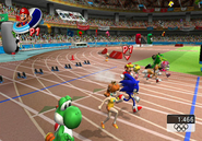 Athletics 100m