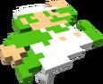 MKT Sprite 8-Bit-Sprung-Luigi