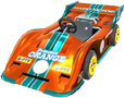 MKT Sprite Orange-Grau-Flitzer