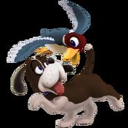 SSB4 Sprite Duck Hunt Duo 2