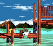 DKC3 Screenshot Kriechende Klasps 2