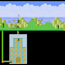 SMB3 World 1-2 SNES level map.png