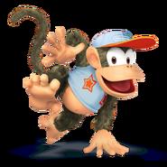SSB4 Sprite Diddy Kong 7