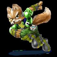 SSB4 Sprite Fox 3