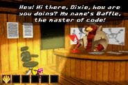 DKC3GBA Screenshot Baffles Code-Raum