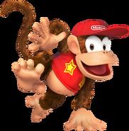 SSB4 Artwork Diddy Kong
