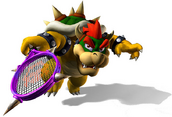 Bowser en la serie Mario Tenis