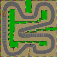 Circuit Mario 3 - SMK (parcours)