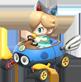 MK8 Sprite Baby Rosalina