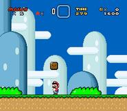 SMW Screenshot Yoshis Eiland 1 3