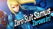 SSB4 Screenshot Charakter-Einführung Zero Suit Samus