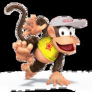 SSB4 Sprite Diddy Kong 1