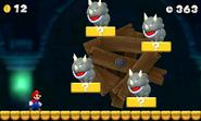 Reznor Battle - E3 2012 Demo - New Super Mario Bros. 2