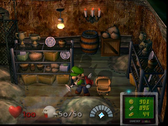 Cave (Luigi's Mansion)