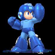 SSB4 Artwork Mega Man