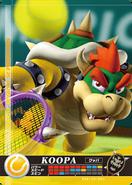 Carte amiibo Bowser tennis