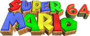 SuperMario64logoingame