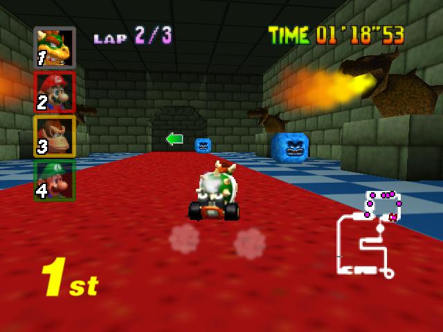 Bowser's Castle (Mario Kart 64)