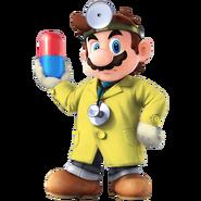 SSB4 Sprite Dr. Mario 5