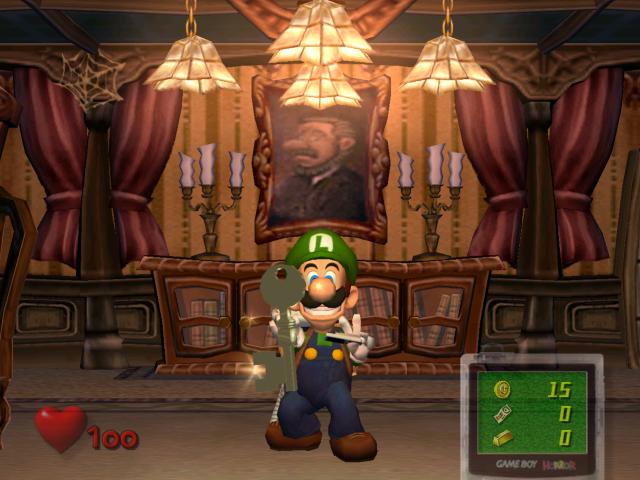 Salon (Luigi's Mansion)