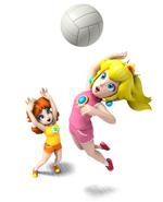 Mario Sports Mix Daisy y Peach