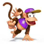 SSB4 Sprite Diddy Kong 3