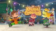 Animal Crossing - MK8 (hiver) 3