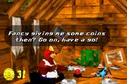 DKC3GBA Screenshot Boomers Bombenbude