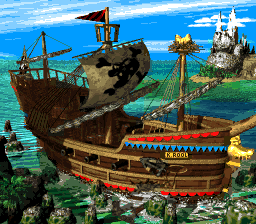 Gangplank Galleon (Donkey Kong Country 2: Diddy's Kong Quest)
