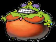 Queen Bean Artwork (Superstar Saga)