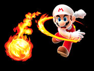 SMG Artwork Feuer-Mario