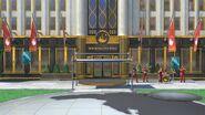 New Donk City - SSBU (entrée de l'hôtel)