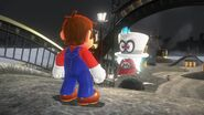 Mario & Cappy's First Meeting