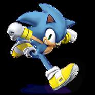 SSB4 Sprite Sonic 5