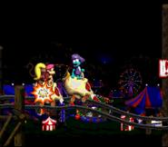 DKC2 Screenshot Alptraumfahrt