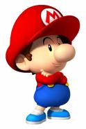 MSS Artwork Baby Mario