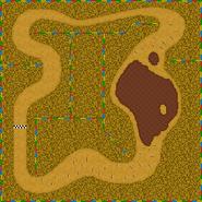 Île Choco 2 - MKDS (carte)