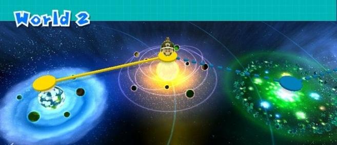 Mundo 2 (Super Mario Galaxy 2)