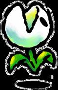 Nipper Plant Artwork - Yoshi's Island DS
