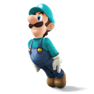 SSB4 Sprite Luigi 1